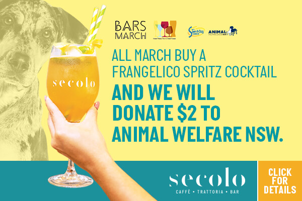 Bar March Secolo Dining Cocktail Special Charity