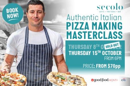 Authentic Italian Pizza Making Masterclass