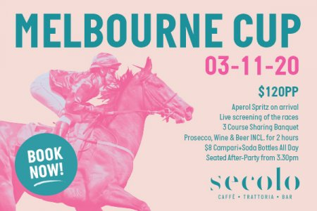 Melbourne Cup 2020 Sydney Secolo Dining