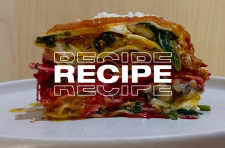 Veggie Lasagne Recipe by Secolo Dining