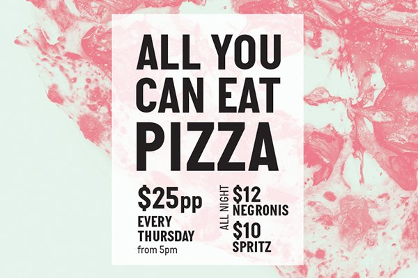 All You Can Eat Pizza Sydney Secolo Dining
